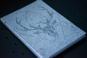 NOTEBOOK GEO DEER MAGIC ASH