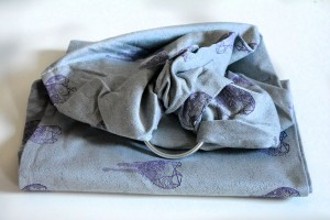 RING SLING AQUA LOVE VIOLET GLOW WITH VISCOSE