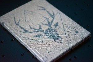 NOTEBOOK GEO DEER TOUCH OF EARTH