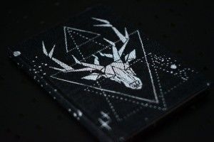NOTEBOOK GEO DEER MONOCHROME